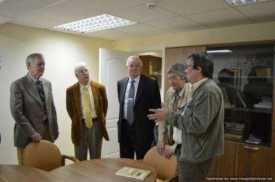 Посещение Сергеем Сорокиным Центра